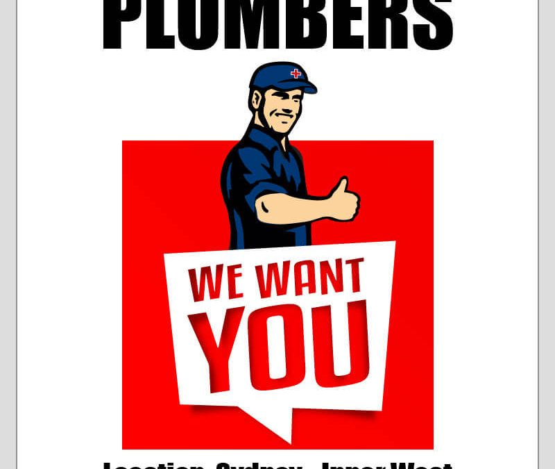 PLUMBER WANTED